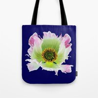 Papaver Somniferum Tote Bag