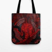 Incipit Serpent Tote Bag