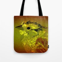 Amber Bird Tote Bag