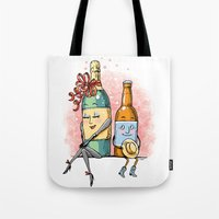 Bottled Romance Tote Bag