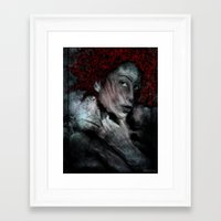 red_1 Framed Art Print