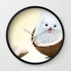 coconutty Wall Clock