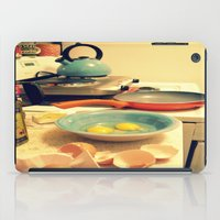 Sunday Morning Breakfast iPad Case