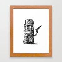 SHERIFF Framed Art Print
