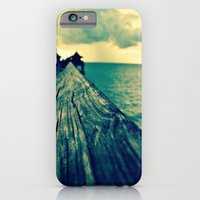iPhone & iPod Case featuring Pier View by Caleb Troy