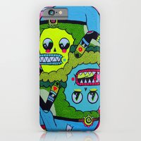 iPhone & iPod Case featuring Topsy Turvy by Frenemy