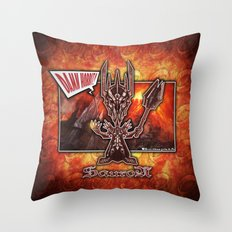 The Sauron concept! Throw Pillow