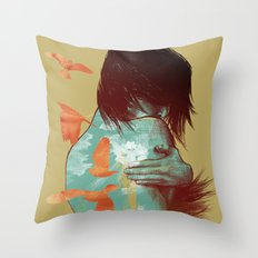 See It Through Throw Pillow