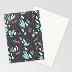 Nighttime Dandelions Stationery Cards