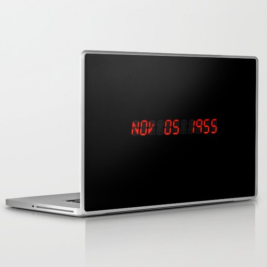 Nov 05 1955 - Back to the future Laptop & iPad Skin