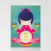 Nacer / Born Stationery Cards