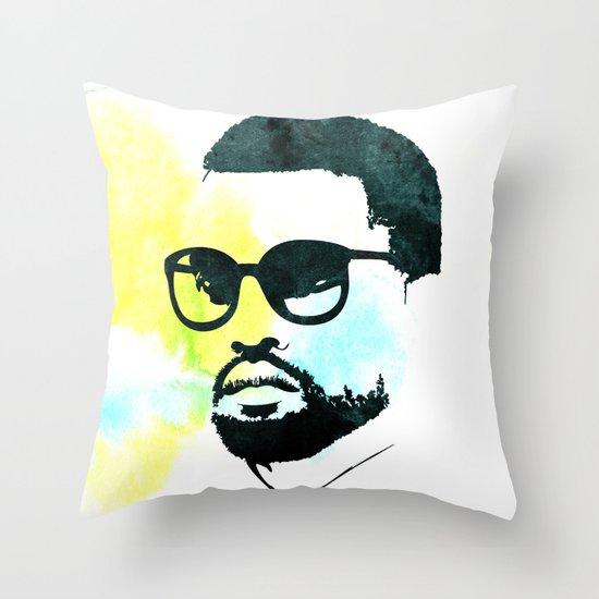 K' Throw Pillow