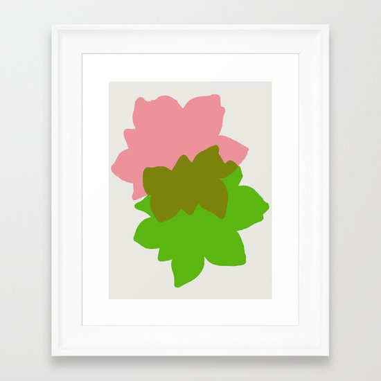 Play 4 Framed Art Print