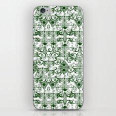 Green Pattern iPhone & iPod Skin