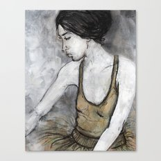 Ballerina for print Canvas Print