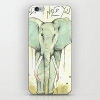 i need You iPhone & iPod Skin