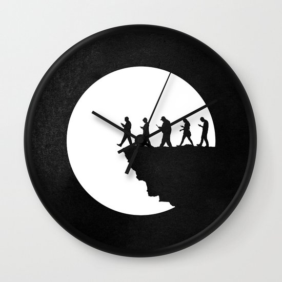 Subservient Wall Clock