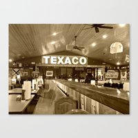 Texaco Canvas Print