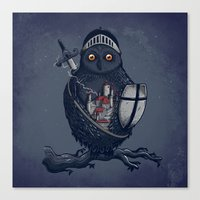 Night Watchman Canvas Print