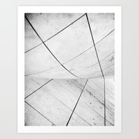 WHITEOUT: chicago disoriented Art Print