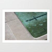 Clovelly Pool Art Print