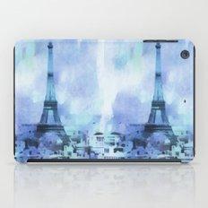 Blue Paris iPad Case