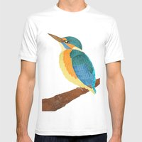 KingFisher Mens Fitted Tee White SMALL