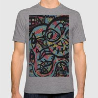 Cheshire Mens Fitted Tee Athletic Grey SMALL