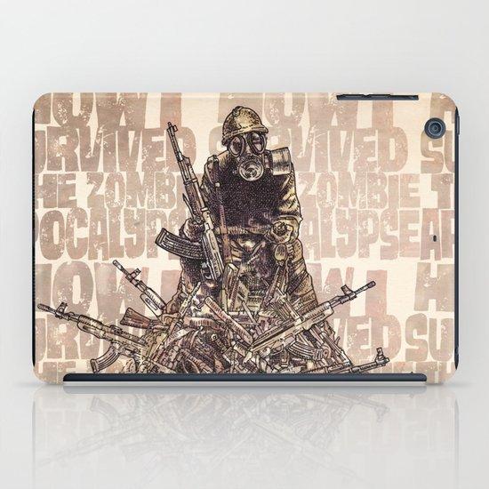 How I Survived The Zombie Apocalypse (colour option) iPad Case