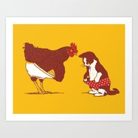 Show Me Yours And I'll S… Art Print