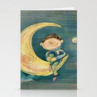 Dreamy Boy Stationery Cards