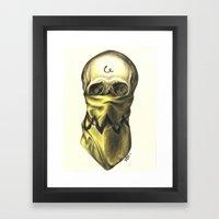 You're A Bad Man, Charli… Framed Art Print
