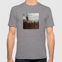 The Next Step Mens Fitted Tee Tri-Grey SMALL