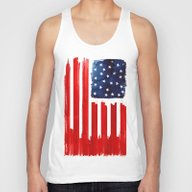 Stars And Buildings Unisex Tank Top