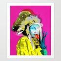 Indian Pop 96 Art Print
