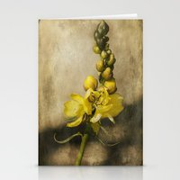 Yellow classic Stationery Cards