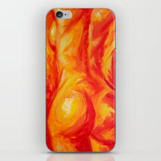 Abstract body iPhone & iPod Skin