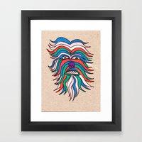 Whacky Wookie Framed Art Print