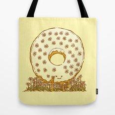 In Bloom Donut Tote Bag