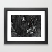 Troll In My Basement Framed Art Print