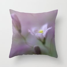 bellflower Throw Pillow