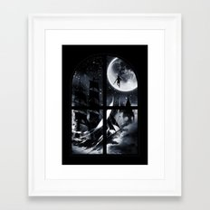 Playtime's Over Framed Art Print