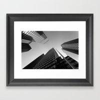 New York Skyscrapers Framed Art Print