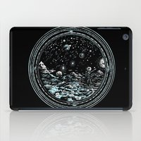 Miniature Circle Landscape 2: Astronausea.. iPad Case
