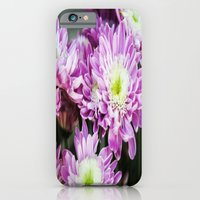 iPhone & iPod Case featuring Purple Flowers by Natalie Guardado