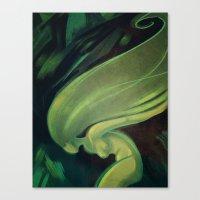 Woosh Canvas Print