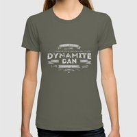 Dynamite Dan Womens Fitted Tee Lieutenant SMALL
