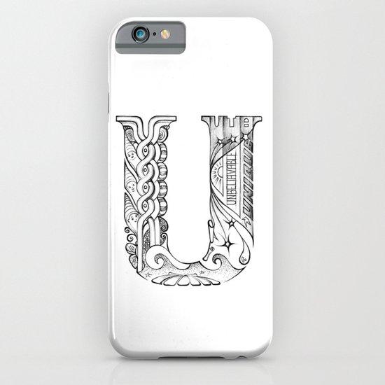 U letter iPhone & iPod Case