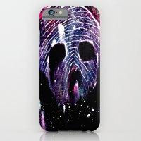 iPhone & iPod Case featuring Cosmic Cranium by Skeletal Noir