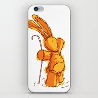 On The Sideline iPhone & iPod Skin